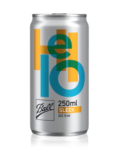 Ball debuts new can sizes at Drinktec