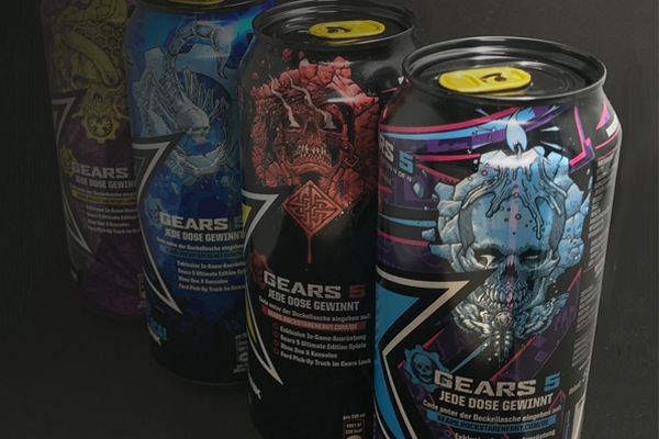 Cans reward gaming fans in Rockstar Energy Gears 5 promotion