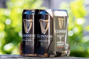 Diageo to remove plastic from multipacks