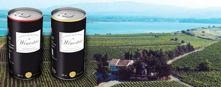 Young French wooed by wine in cans