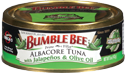 Recall for loose seal tuna cans