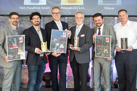 PrintabLED wins the Gold Metpack Innovation Award 2017