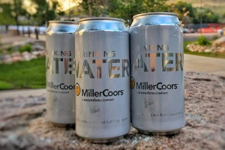 MillerCoors supplies canned water to tornado victims