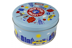 A bagel in a tin? Why not?