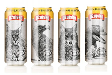 Croatian beer brand uses cans to highlight endangered species