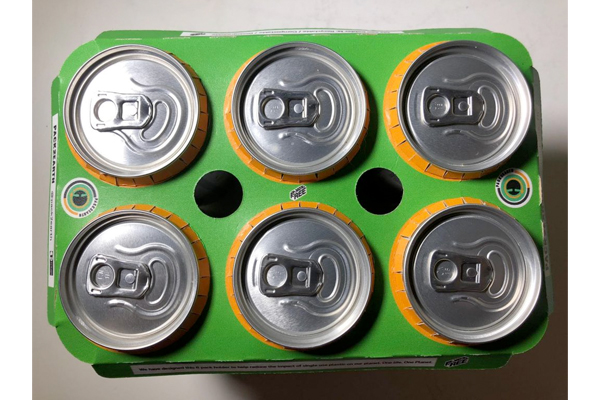 Biodegradable can holders at Packaging Innovations
