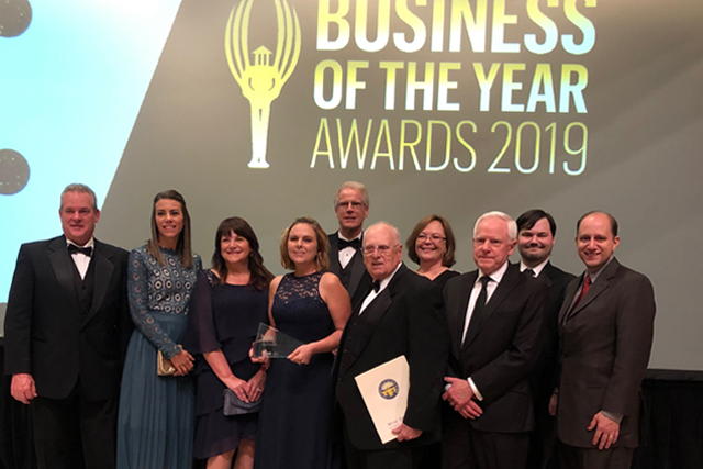 Prime Controls honoured at 2019 Business of the Year Awards