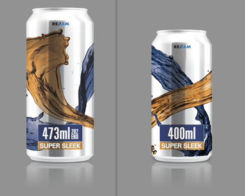 Rexam reveals two new can sizes