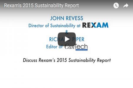 Rexam's 2015 Sustainability Report