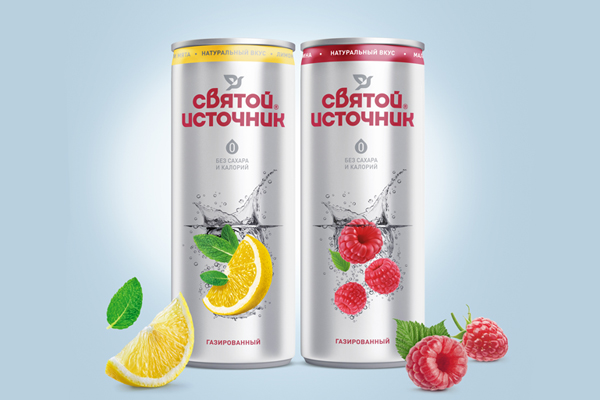 Svyatoy Istochnik introduces a canned flavoured water