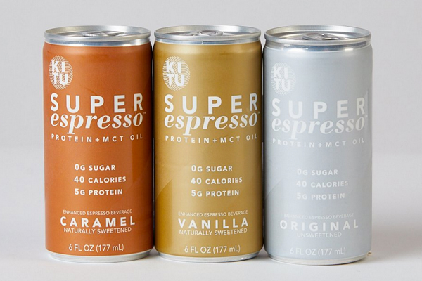 Canned espresso beverages from Kitu