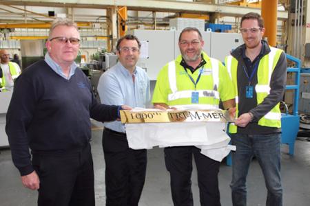 1,000th trimmer celebrated at  CarnaudMetalbox Engineering